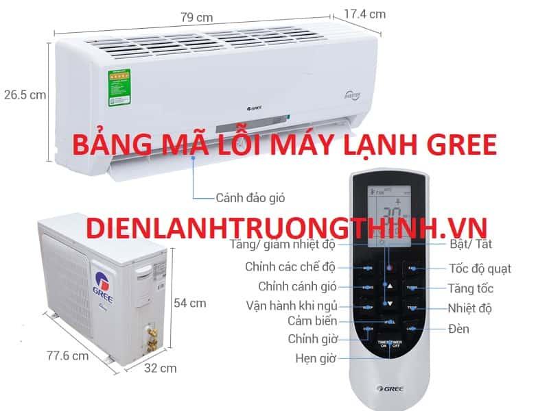 bang ma loi may lanh gree